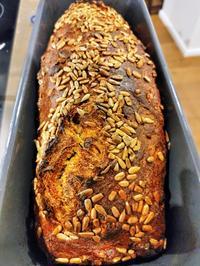Brot: Orangen-Karotten-Ingwer Kastenbrot mit Körnern - Rezept - Bild Nr. 2