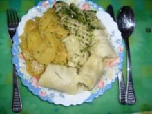 Hauptspeise: Schwäbische Maultaschen ohne Spinat - Rezept
