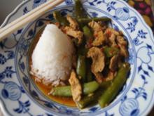 Putenbrustfilet mit Zuckerschoten und Jasmin-Reis - Rezept - Bild Nr. 13739