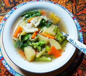 Indonesische Gemüsesuppe - Cap Cay Kuah - Rezept - Bild Nr. 13739