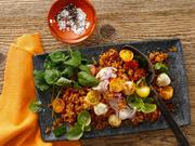 Tomaten-Reis-Salat mit Mozzarella - Rezept - Bild Nr. 13779
