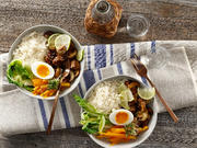 Vegetarische Bibimbap-Food-Bowl - Rezept - Bild Nr. 13779