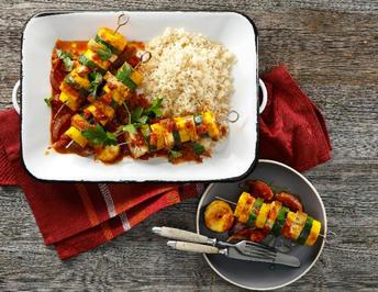 Zucchini-Tofu-Spieße - Rezept - Bild Nr. 13779