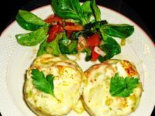 Kartoffeln gefüllt mit Garnelen in frischer Kräuter-Creme - Rezept - Bild Nr. 13783