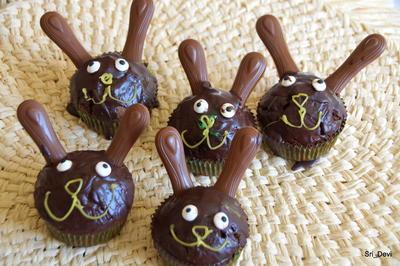 Ostern: Hasen-Schoko-Muffins - Rezept - Bild Nr. 2