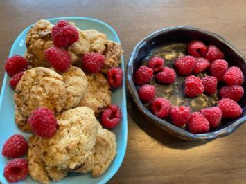 Schnelle Cookies mit weißer Schokolade - Rezept - Bild Nr. 2