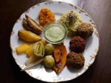 Bunter Orient trifft heimische Gemüsevariation und fairteilte Kartoffeln - Rezept - Bild Nr. 13796