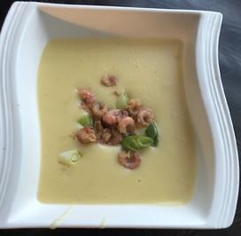 Norddeutsche Kartoffel Suppe mit Krabben - Rezept - Bild Nr. 13796