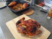 Harissa-Hühnchen mit Süßkartoffeln und Kichererbsen - Rezept - Bild Nr. 2