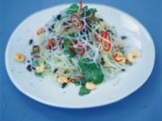 Frischer asiatischer Glasnudelsalat - Rezept