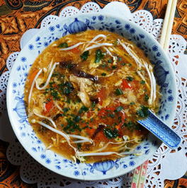 Scharf-saure Suppe ala Peking - Rezept - Bild Nr. 13834