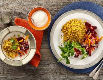 Linsen-Curryreis mit Roter Bete - Rezept - Bild Nr. 13835