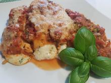 Manicotti mit Gemüse-Sugo - Rezept - Bild Nr. 13856