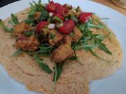 LowCarb Linsenwraps mit Tofu-Senf-Mayonnaise und Marinierten Tomaten - Rezept - Bild Nr. 13907