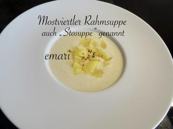 """Mostviertler Rahmsuppe - auch """"Stosuppe"""" genannt - Rezept - Bild Nr. 13897"""