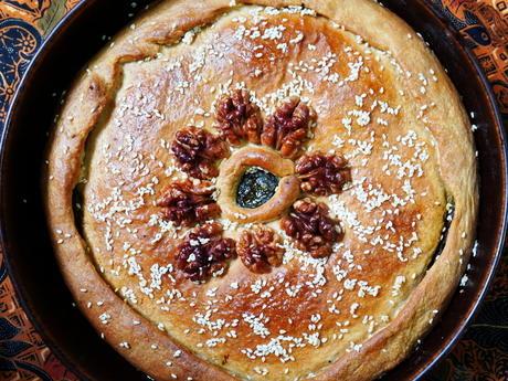 Kretische Spinatpastete mit Hefeteig - Rezept - Bild Nr. 13886
