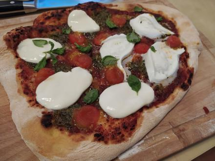 Pizza Caprese wie beim Italiener - Rezept - Bild Nr. 2