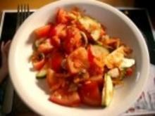 Gewürzter Salat mit Blumenkohl und Mandeln - Rezept