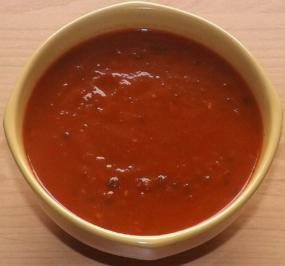 Selbstgemachte Tomatensauce mit Schnittlauch - Rezept - Bild Nr. 2