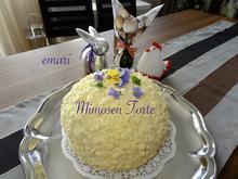 """""""Mimosen"""" Torte - Rezept - Bild Nr. 13918"""