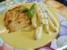 Curry Sahne Sauce - Rezept - Bild Nr. 13979