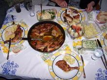 Hähnchen Pfanne mit Gemüse und Salate - Rezept - Bild Nr. 13903