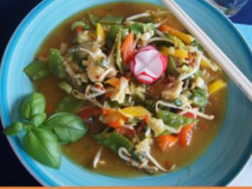 Gemüse-Wok mit Seelachsfilet - Rezept - Bild Nr. 2