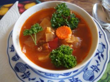 Super Suppe zum Abnehmen - Rezept - Bild Nr. 13903