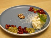 Weiße Mousse mit Tonkabohne zwischen Frucht - Rezept - Bild Nr. 13907