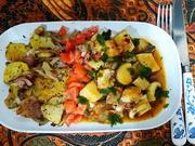 Kräuterseitling mit Bratkartoffeln - Rezept - Bild Nr. 13907