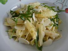 Spargel-Rucola-Tagliatelle - Rezept - Bild Nr. 13907