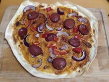 Schnelle Flammkuchen BBQ-Style - Rezept - Bild Nr. 2