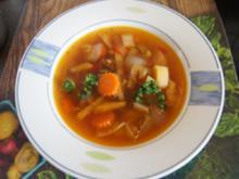 Gemüse-Rindermett-Suppe - Rezept - Bild Nr. 2