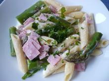 Pasta mit Spargel und Schinken - Rezept - Bild Nr. 13924