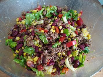 TexMex Hackfleisch Salat - Rezept - Bild Nr. 13941