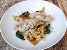 Dumplings mit Schwein und Garnelen (Victoria Fonseca) - Rezept - Bild Nr. 2