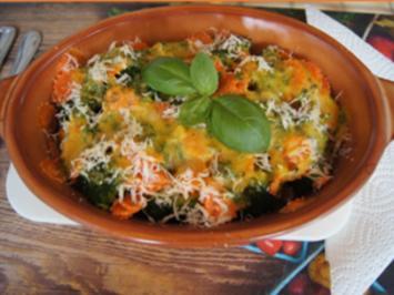 Kartoffel-Brokkoli-Möhrenblüten-Auflauf - Rezept - Bild Nr. 2