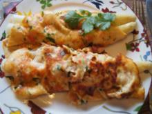 Tomaten-Pfannkuchen mit Spargel - Rezept - Bild Nr. 2