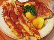 Curry-Hühnchenkeulen mit Spargel - Rezept - Bild Nr. 13969