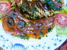Schweinskoteletts mit Tomaten und Knoblauch - Costolette alla Pizziola - Rezept - Bild Nr. 2