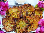Kartoffelpuffer mit Zucchini - Rezept - Bild Nr. 13999