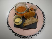 It's a Match! Parmesan steht auf Paprika und Brot - Rezept - Bild Nr. 14033