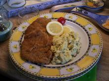 Wienerkalbsschnitzel mit Kartoffelsalat - Rezept - Bild Nr. 14066