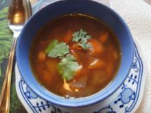 Schweinefilet-Gemüse-Kartoffel-Suppe - Rezept - Bild Nr. 14064