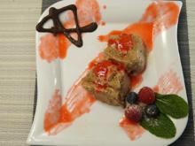 Schokoladenparfait und Himbeerspiegel - Rezept - Bild Nr. 14069