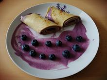 Pfannkuchen mit Heidelbeersoße L-Free - Rezept - Bild Nr. 14083