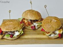 Halloumi-Grillgemüse-Burger - Rezept - Bild Nr. 4