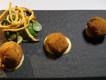 Bitterballen mit Rindfleisch und Käse - Rezept - Bild Nr. 2