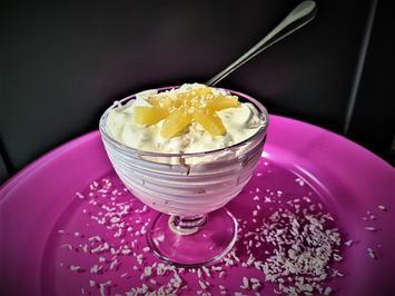 Kokos-Ananas-Dessert - Rezept - Bild Nr. 14147