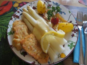Kabeljaufilet mit Spargel und Frühkartoffeln - Rezept - Bild Nr. 14137